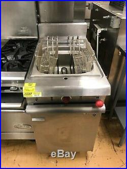 Vulcan Commercial 40lb Electric Deep Fryer with 2 New Baskets