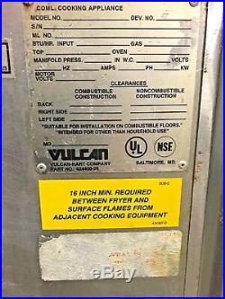 Vulcan Commercial Deep Fryer Electric 1ERD50 Good Working Condition