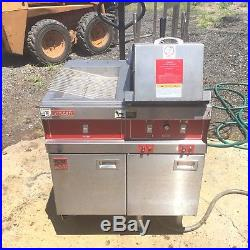 Vulcan Electric Deep Fryer with Fry Dump Station Filtration system & Basket Lift