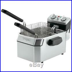 Waring 15 lb. Electric Commercial Countertop Deep Fryer 240V, 3800W