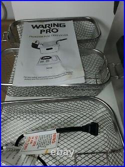 Waring Pro DF280 Professional 3 Basket Deep Fryer 1800W. Never used it