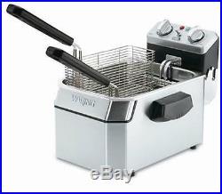 Waring WDF1500B 15lb Counter Top Deep Fryer Electric 208V