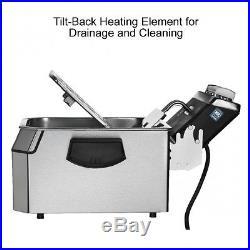 Waring WDF1550 HeavyDuty 15 lb Electric Deep Fryer 240V 1 Year Warranty