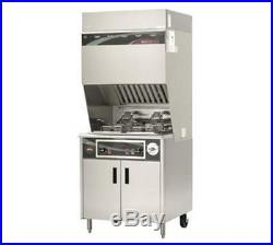 Wells WVF-886 15 lb Electric Ventless Dual Open Fryer Stainless steel