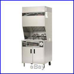 Wells WVF-886 Ventless Dual Fryer with Auto-Lifts