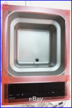 Wolf FM15TF/S 15 Transitional Deep Fryer Module 2700 Watt Heating Element