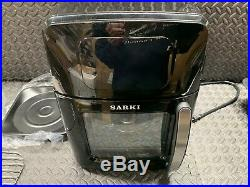 XL Air Fryer with Large Viewing Window, Electric Hot Deep Fryer with Large Capac