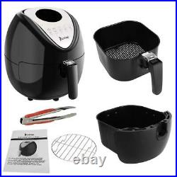 ZOKOP Air Fryer 5.3L Air Fryer Oven Xl Oilless Deep Fryer Cooker Digital Control