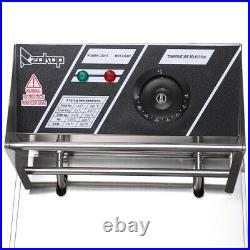 Zimtown 6L 2500W Electric Deep Fryer Commercial Tabletop Restaurant Frying Baske